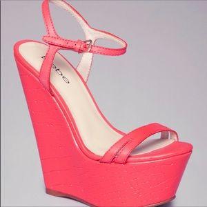 Bebe Wedge Platform Sandals